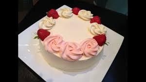 Fresh Cream Cake Youtube