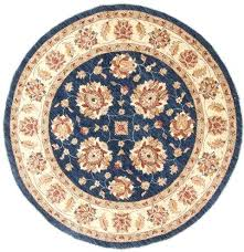 blue round area rugs blue round hand knotted navy blue area rug 6x9