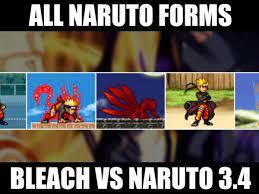 Game Naruto 3.4: Chơi Online Cùng Bleach vs Naruto