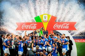 The coppa goes to napoli. There S A God Of Football Says Gattuso As Napoli Win Sixth Italian Cup