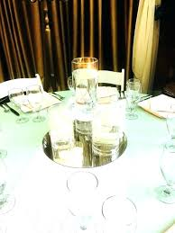 round mirror centerpieces mirrors for tables ideas whole