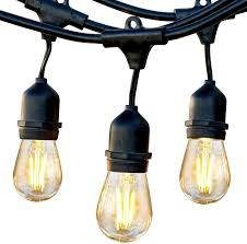 Feit Outdoor Weatherproof String Light Set White Dimmable Led String Light Bulbs Cigit Karikaturize Com