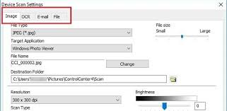 Where To Locate The Scanned File