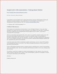 Sample Recommendation Letter For College Picture Character