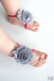 baby feet are the best and these baby barefoot sandals only make them cuter from
