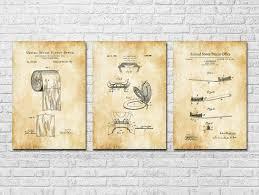 Bathroom Patent Collection of 3 - Patent Prints, Bathroom Decor ...