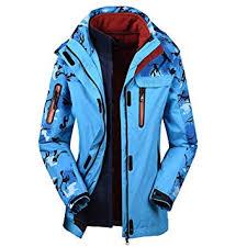 Woman's Winter Coat Two <b>Piece</b> Three in <b>One Outdoor</b> Alpine ...