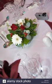 red and white table decorations. Wedding Table Decoration With Red And White Flowers Settings Decorations