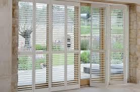 patio door shutters handcrafted for