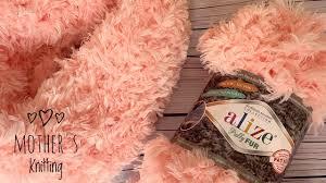 Новинка! <b>Alize Puffy Fur</b>! Снуд своими руками за 10 минут ...