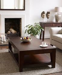 coffee table dark wooden teak lombok