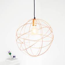 sphere lighting fixture. Rose Gold Copper Globe Ceiling Pendant Light Chandelier Sphere Lighting Fixture