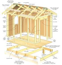 building the frame a 10x10 shed build your own storage