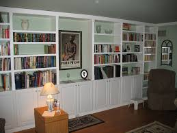 picture of built in book cases