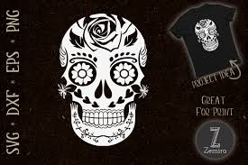 Find quotes, fonts and a wide range of design elements, svg eps dxf png ttf otf. Sugar Skull Funny Halloween White Graphic By Zemira Creative Fabrica