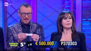 Lotteria Italia biglietti vincenti, estrazione Soliti Ignoti ...
