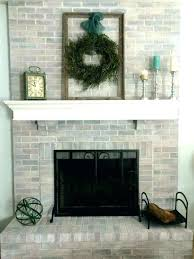 refacing brick fireplace inspirational how to reface a regarding motivate living diy with tile ho