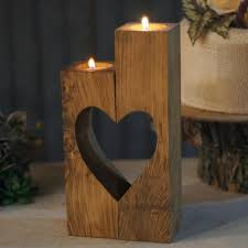 diy candle holders inspirational reclaimed wood heart cut out candle holder of diy candle holders unique