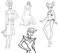 Fashion Coloring Pages For Adults At Getdrawingscom Free For