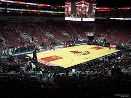 Yum Center Seating Chart Women S Basketball Kfc Yum Center Section 109 Louisville Basketball