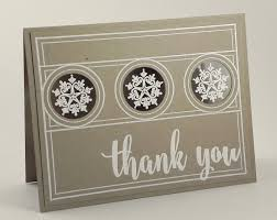 snowflake thank you cards snowflake thank you card i played with paper today