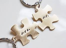 his and hers personalized key chains hand stamped mr and mrs Wedding Anniversary Keychain Wedding Anniversary Keychain #16 25th wedding anniversary keychain