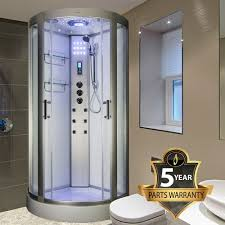 insignia ins2000 900mm x 900mm quadrant hydro shower cubicle self contained cabin