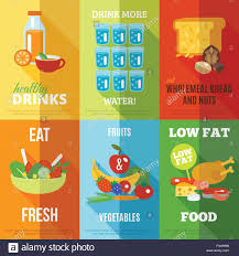 Design A Poster On The Topic Of Healthy Food Healthy Eating Poster Stock Photos Healthy Eating Poster