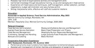 Restaurant Cook Resume Sample Chef Resume Template For