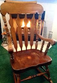 stirring vintage solid wood rocker rocking chair made in on vintage solid wood rocker rocking chair