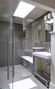 modern frameless shower doors. Frameless Shower Doors Bathroom Contemporary With Lighting Stool. Image By: EANF Modern