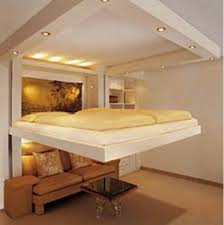 Spacy bed