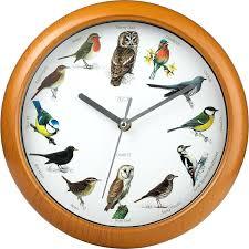 decoration bird wall clock full image for modern 9