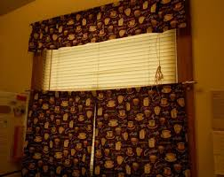 Coffee Themed Kitchen Curtains