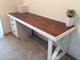 ... Fascinating Diy Wooden Desk 128 Diy Wood Desk Ideas Diy Desk Old Solid:  Full Size