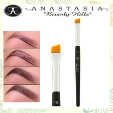 anastasia brush kit. free shipping anastasia 15# angled brow brush, makeup cosmetic brush quality assurance 1pc anastasia kit i
