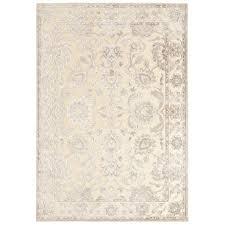 surya basilica beige indoor distressed area rug common 8 x 11 actual