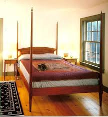 4 poster wood bed cherry pencil post bed with finials 4 poster wooden bed frames