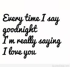 goodnight love sms ideas saying