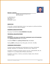 11 Simple Resume Templates Microsoft Word Skills Based Resume