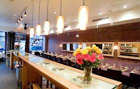 interior lighting design. Contemporary Restaurant Interior Lighting Design Of Klee Brasserie, Manhattan, NYC