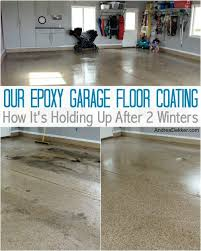 garage floor paint before and after. Interesting After Our Expoy Garage Floor Coating And Garage Floor Paint Before After O