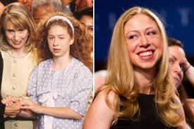 Chelsea tweeted the news on saturday, shared the first photo on sunday, thanked followers on. Chelsea Clinton Turns 40 Her Evolution In Photos Page Six