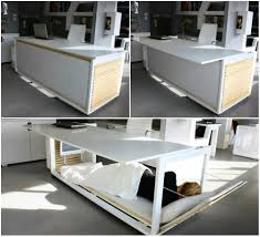 Creative furniture design Small Space Table For Real Hardworker Scott Cooner The 80 Most Amazing Creative Inventions And Concept Designs