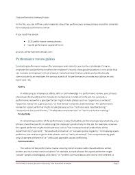Temporary Employee Evaluation Form Example Comments On Appraisal ...