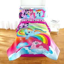 pony bedding set my little pony bedding my little pony living the dream 5 twin bedding