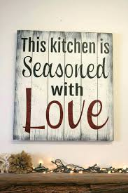 Word Signs Wall Decor Distressed Wall Decor Word Wall Decor Plaques Signs This Kitchen 16