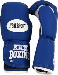 <b>Перчатки</b> для кикбоксинга <b>REALSPORT</b> RS210 10 унций, синий ...