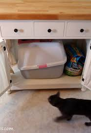 cat litter box furniture diy. plain cat cat litter box furniture diy diy kitty cabinet hides ugly  kitchen cabinets design intended cat litter box furniture diy