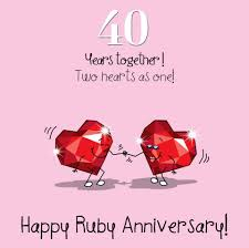 happy 40th anniversary happy 40th anniversary lrgscalemwer0062 36 rare wedding wishes gif